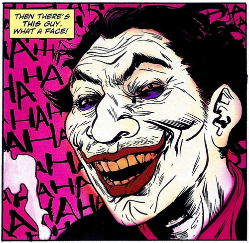 Paul Pope's Joker from SOLO