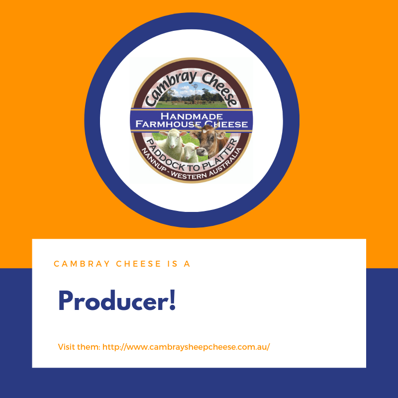 Cambray is producer