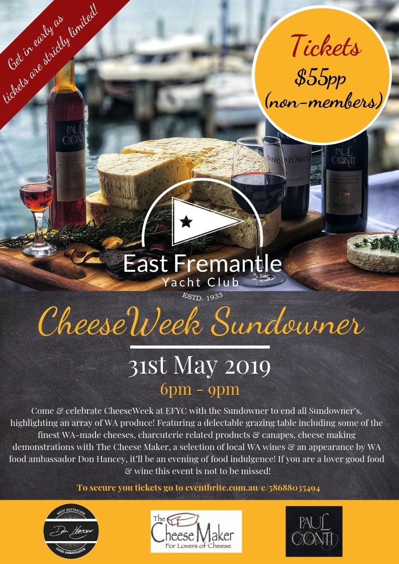 WA Cheese Week 2019 | Events | Perth | Perth Region | South West