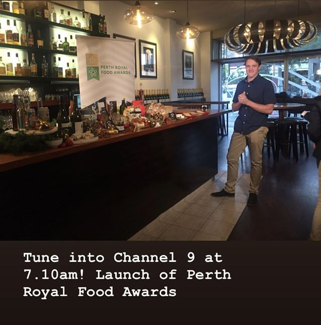 Tune in to @channel9 at 7.10am to see the guys from @cambraycheese and check out the Perth Royal Food Awards!