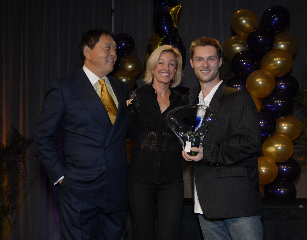 Ian Houghton, Robert and Kim Kiyosaki