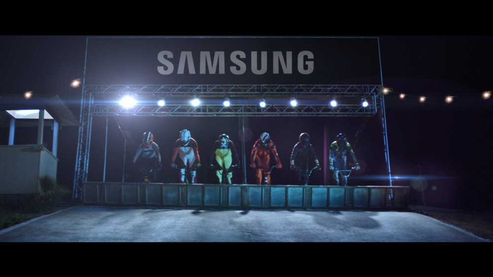 Samsung + Optus Olympic BMX VR — Andrew Cameron