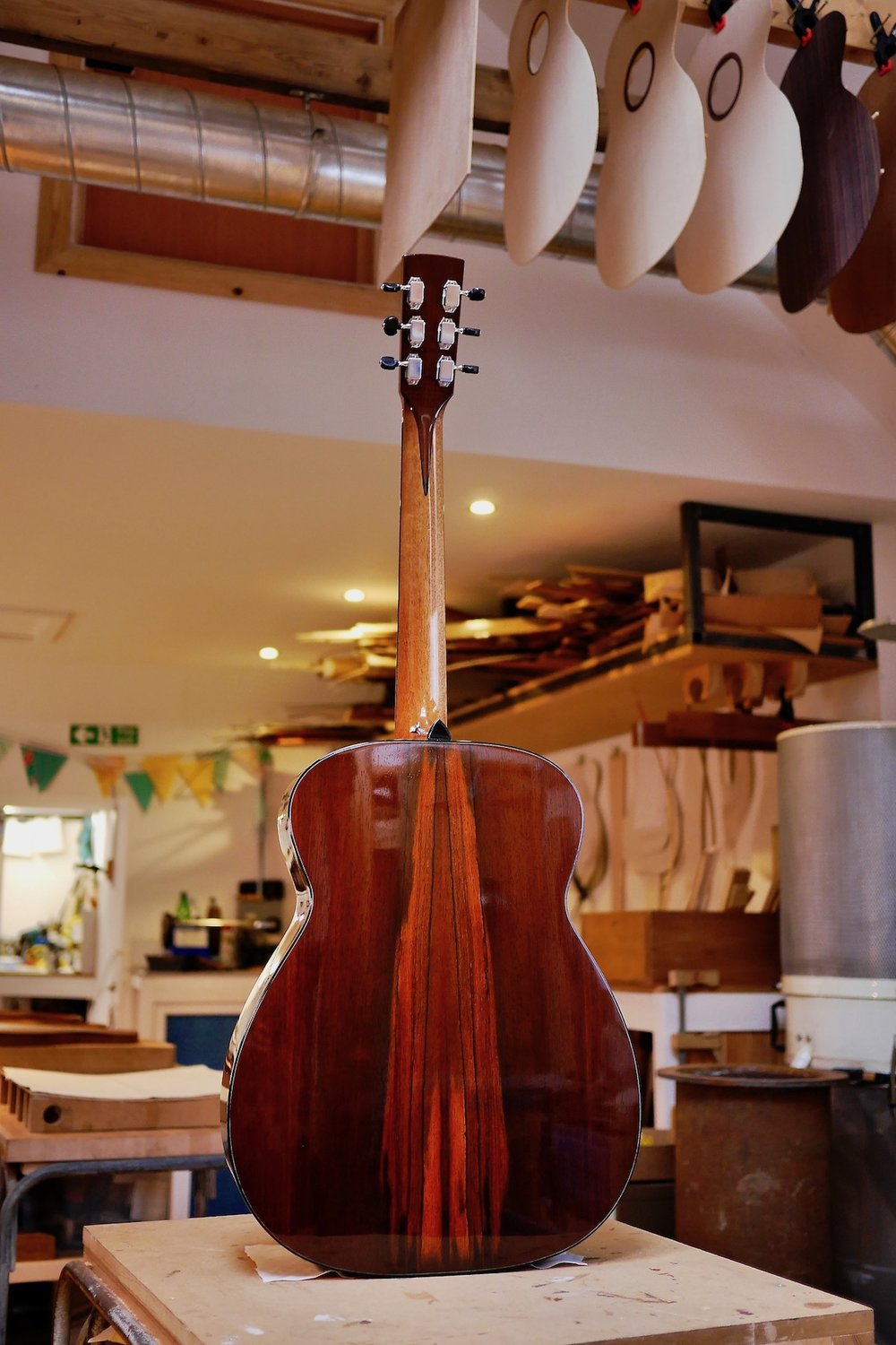14th fret Ulladale in Belizean Rosewood and Adirondack