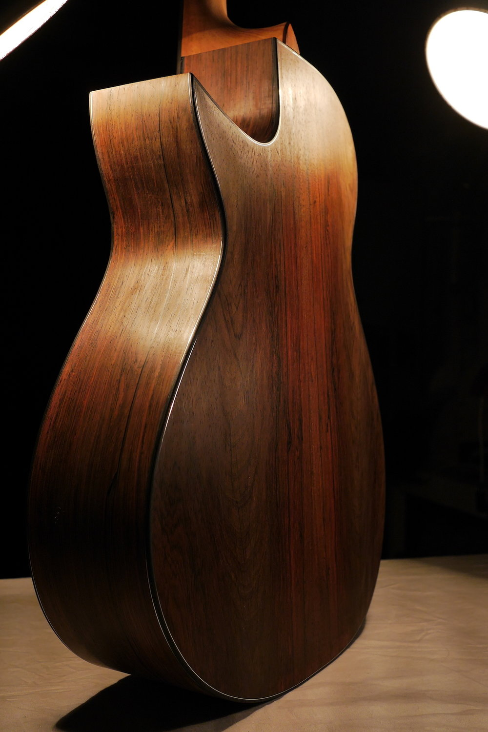 Sterling Silver and Brazilian Rosewood on this beautiful Taran