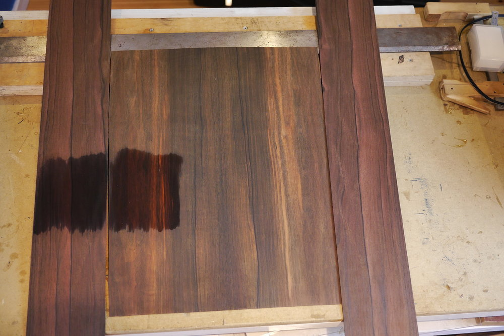 Beautiful Malaysian Blackwood hand selected by John himself