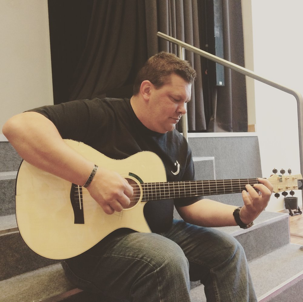 Jason Kostal playing my 99th guitar