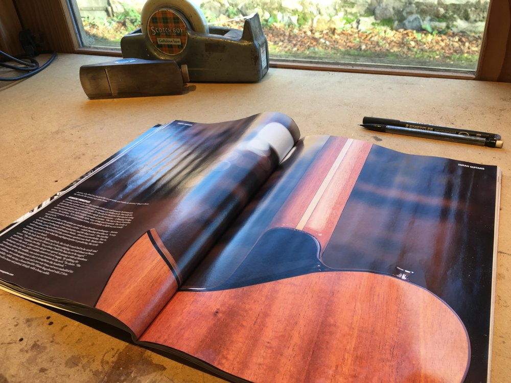 Taran Guitars The Guitar Magazine 03