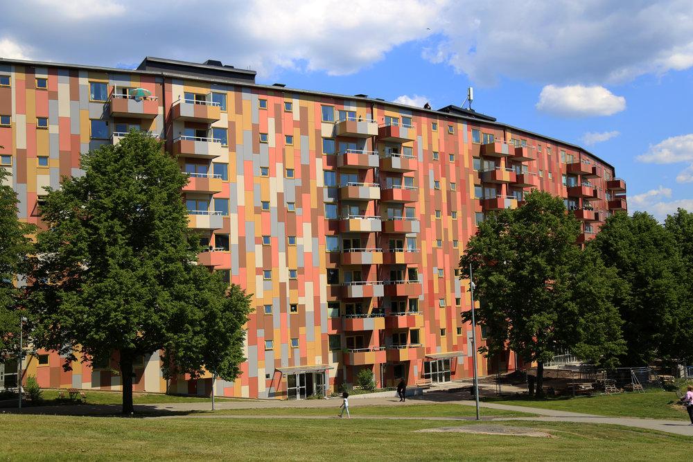 Tellusgatan in Sweden