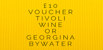 REFER 3 FRIENDS - ADD YOUR ORKA CARD OFFER ON TOP OF YOUR REWARDGET 15% BOOST ON YOUR £10 TIVOLI WINE LIBRARY VOUCHERORGET 15% OFF ONLINE ORDERS WITH GERORGINA BYWATER