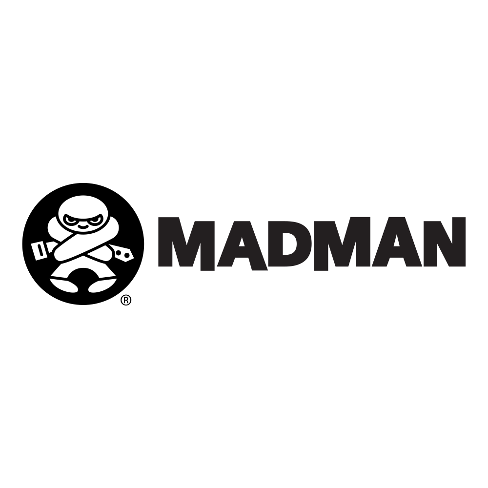 MadMan is a leading independent film and television distribution company with offices in Australia, New Zealand and Berlin. They are also Australia's leading online Anime store with a huge collection of pop culture, collectables, cult movies and much more on DVD and Blu-Ray.  Their iconic logo of the man in the straitjacket represents the kind company they are. A unique cutting edge company that aren't afraid to take a crazy chance on something cool that fits their brand.  If you're affiliated with MadMan, then you're cool by association.   www.madman.com.au