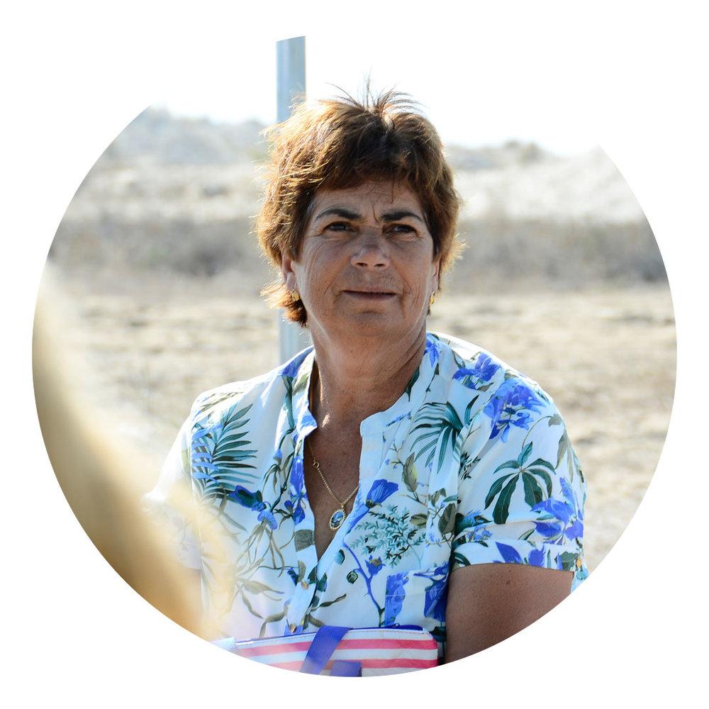 Fátima Ricardo  Pescadora, Carrasqueira. Compromisso voluntário na promoção de boas práticas.