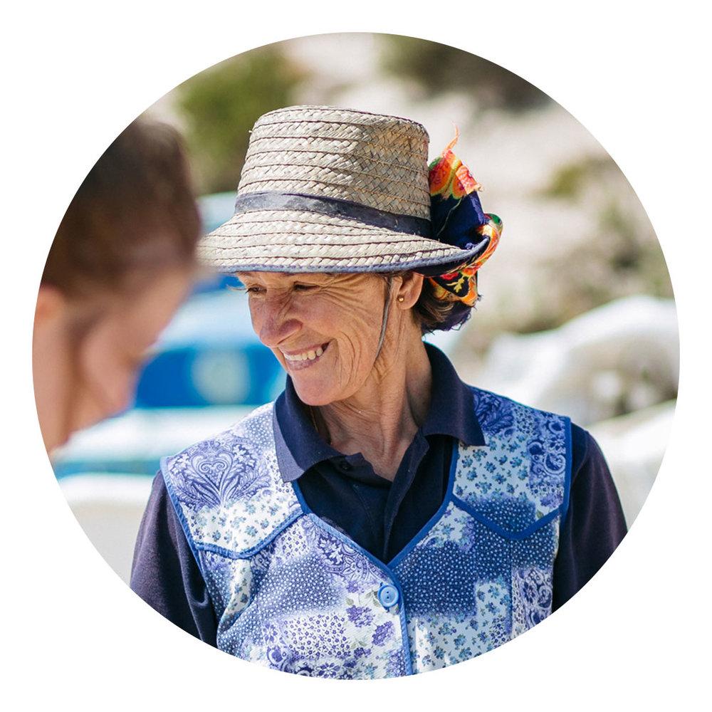 Helena Bravo  Pescadora, Carrasqueira. Compromisso voluntário na promoção de boas práticas.