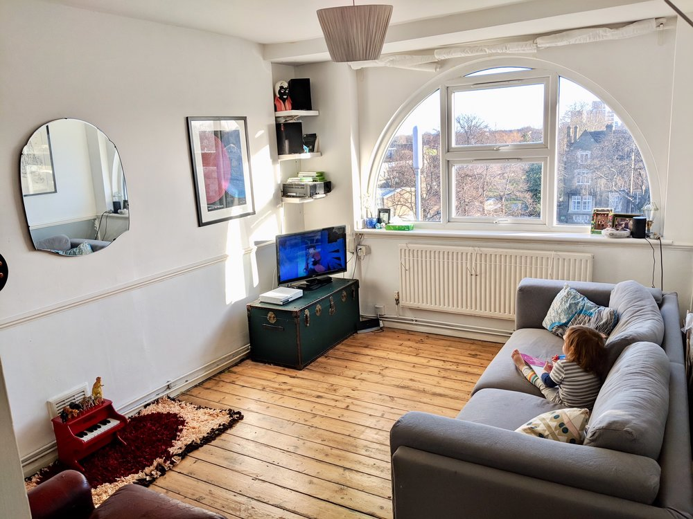. How do 3 people sleep in a 1 bedroom flat    LIVING SMALL IN LONDON
