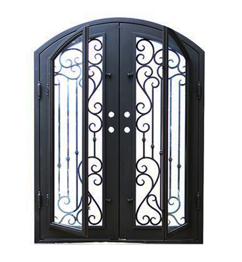 wrought iron door melbourne