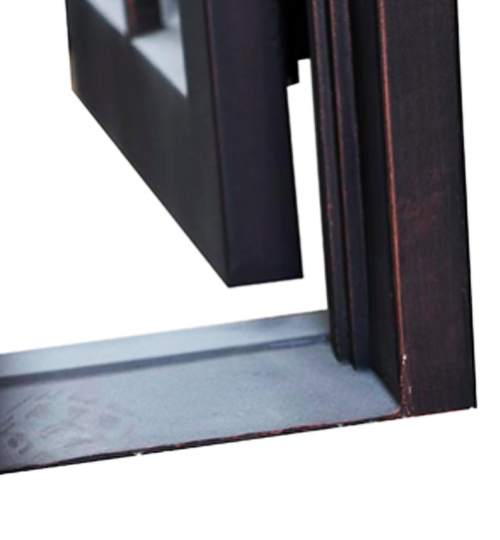wrought iron door threshold