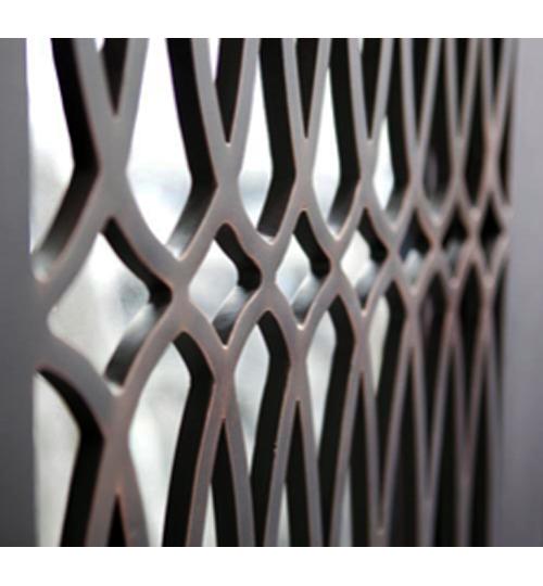 Melbourne wrought iron door