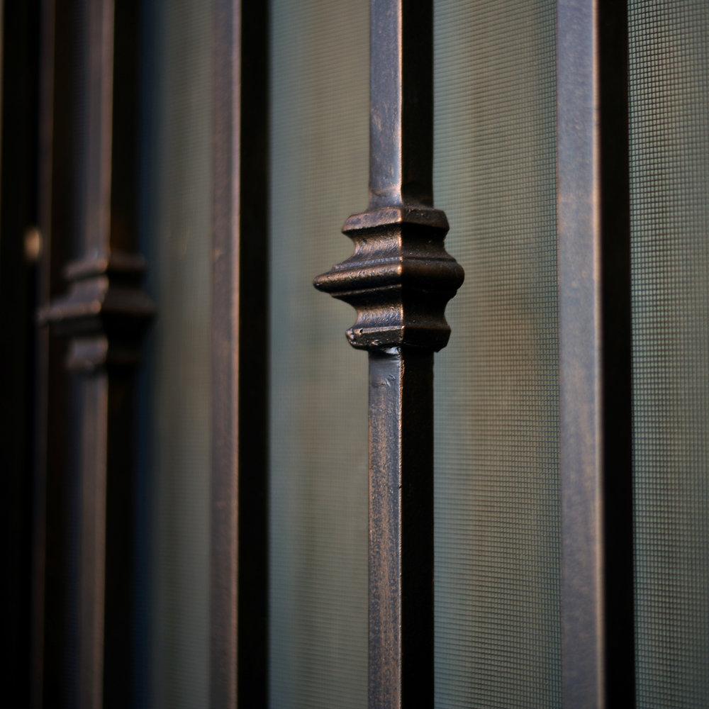 wrought iron front door australia