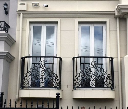 Melbourne Wrought Iron balcony