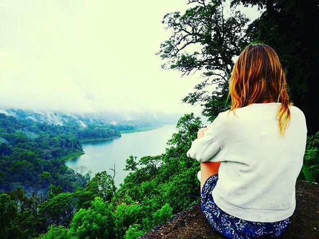 #fog#balirainseason#allgreen#jungle#view#rainseason#bali#travelling