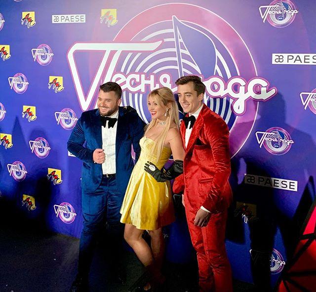 Вчера прошли съёмки «Песня года 2018» . Друзья, эфир смотрите 1 и 2-го января 2019. @marinadjundiet @newwave_official @pesnyagoda_official @eugeniuandrianov @fkirkorov @sergiu_mita_doredos @dsergheev #myluckyday #music #doredos #eurovision2018 #песнягода2018 #mockow #олимпийский