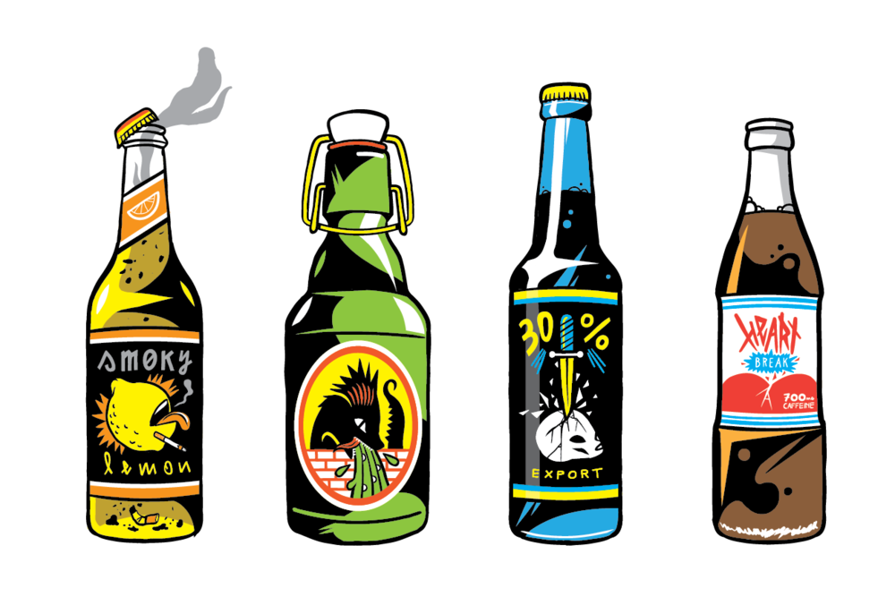 Weird beers (personal work)