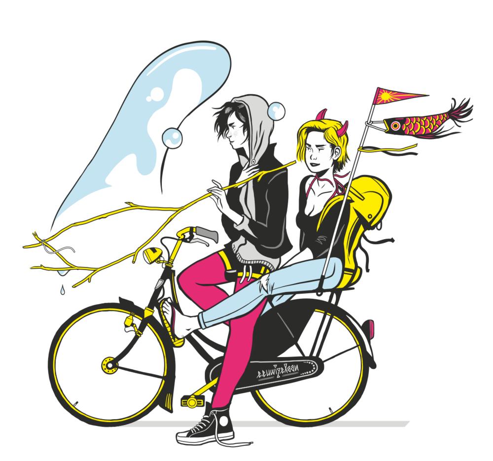 Bike trip (personal work)