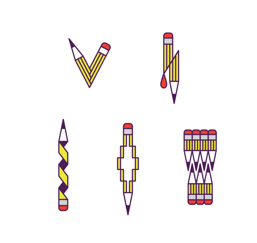 Pen variations (personal work)