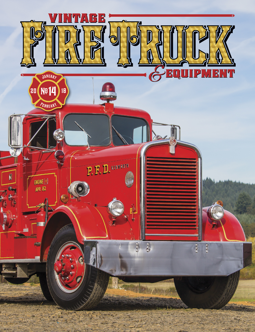 Vintage Fire Truck & Equipment magazine