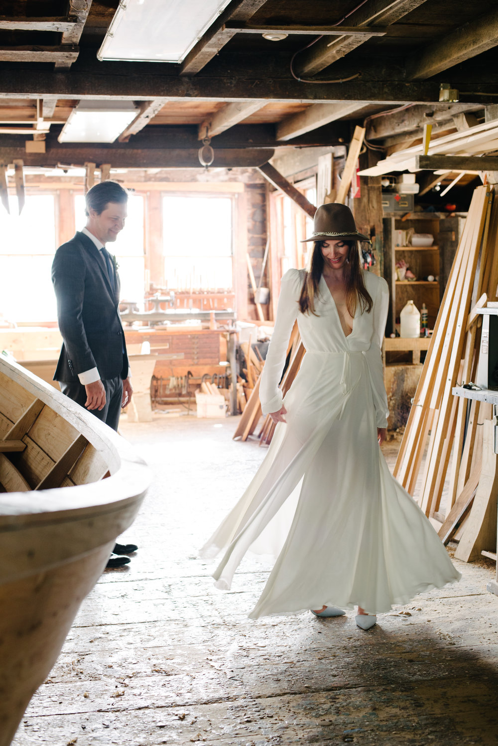 Lowell's Boat Shop wedding