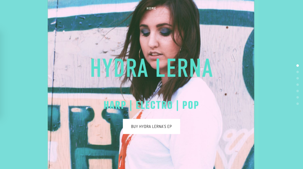 HYDRALERNA.COM - Independent Musician with Online Shop