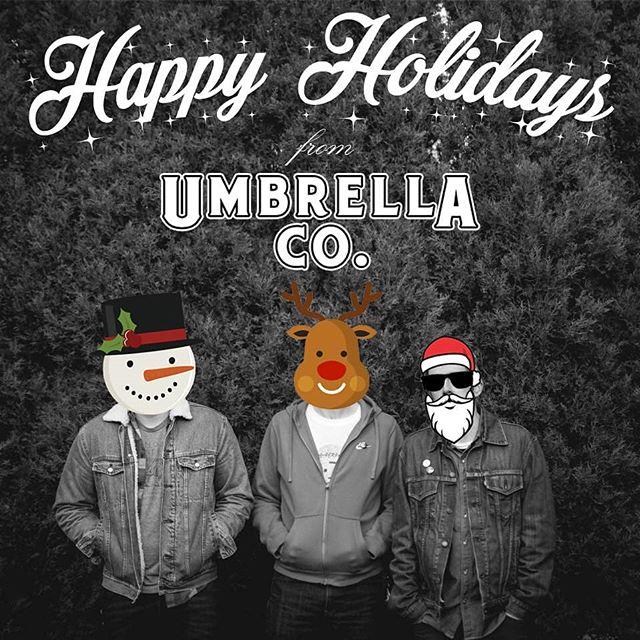 N joy yo self  #happyholidays #umbrellacoband #providence #rhodeisland #pvdmusic #indierock #indiemusic