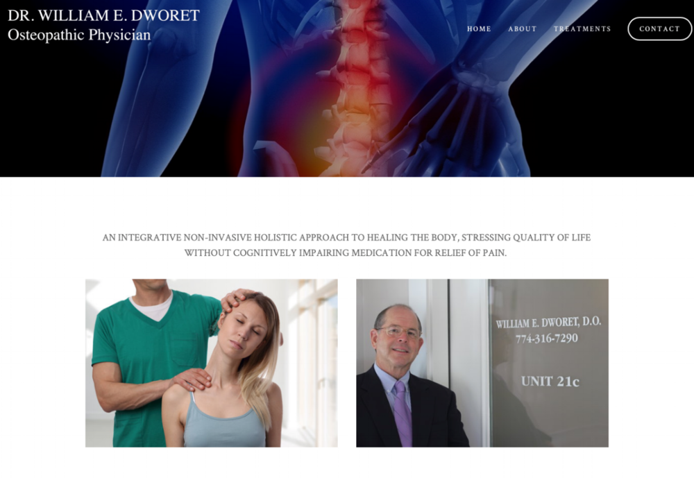 dr. william e dworet Osteopathic physician -