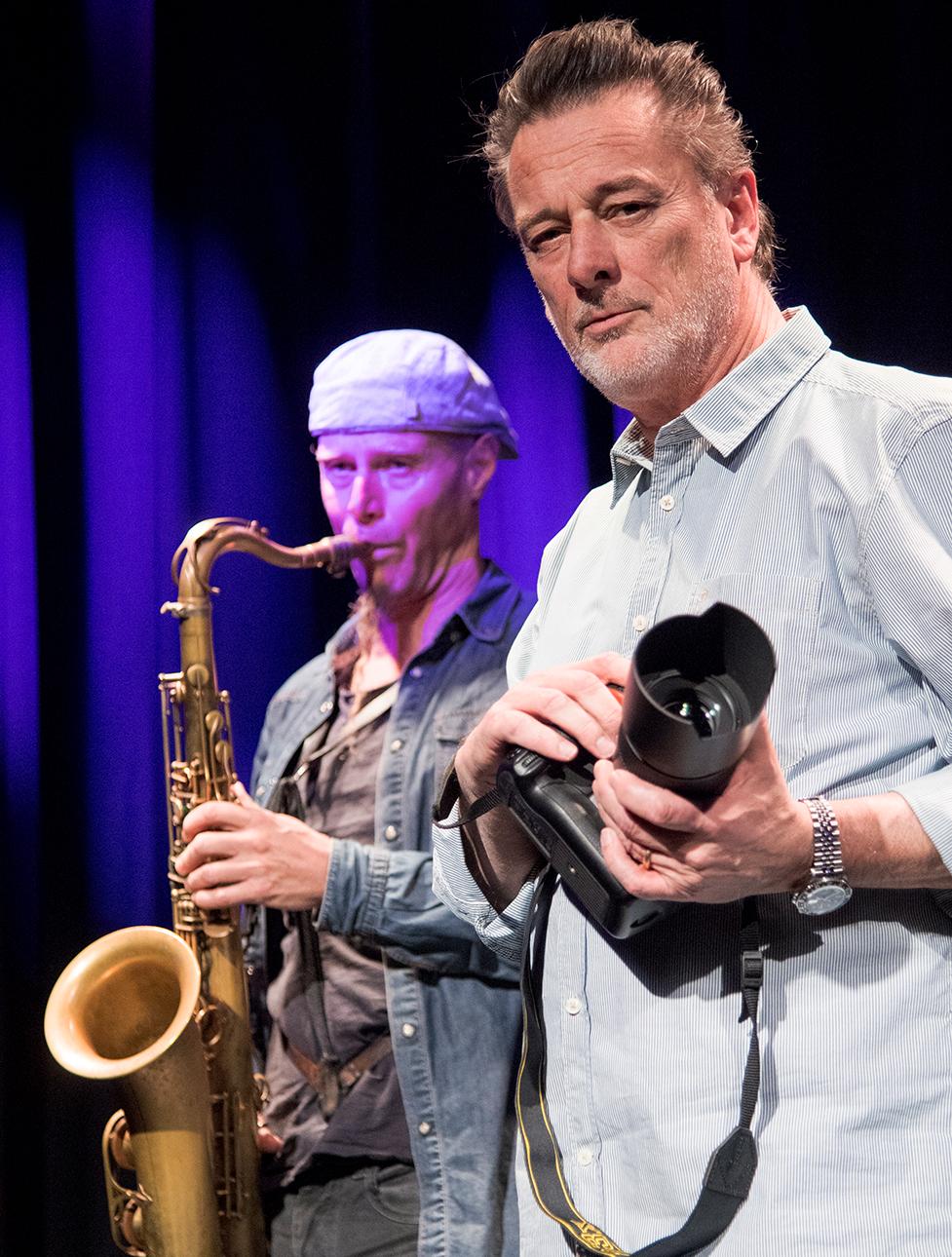 "Peewee Windmüller - Fotograf, Herausgeber ""Jazz n' More"", zu Gast in Episode 5"