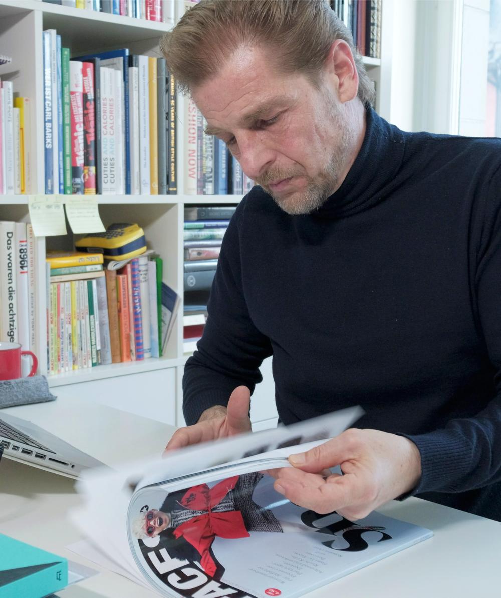 Patrick Pierazzoli - Chefredakteur des Lifestyle-Magazins