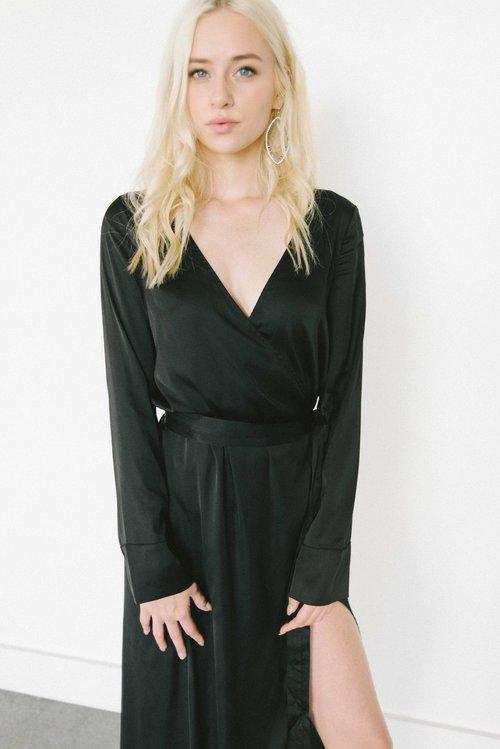 051efaa1a9 For Love   Lemons La Lydia Wrap Dress — Eden Boutique