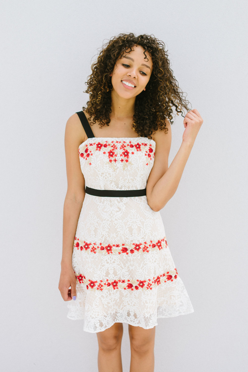 c2cd320d73 Foxiedox Paloma Embroidered Dress