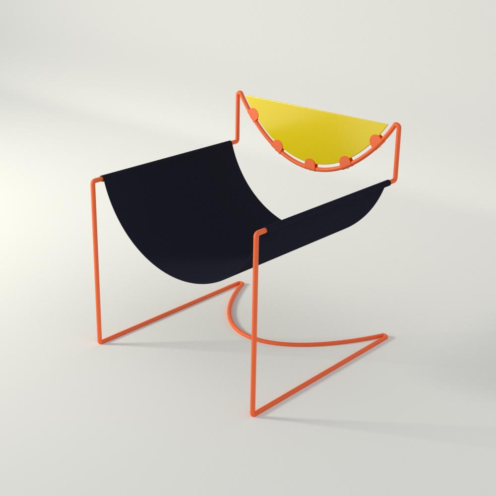Semi Circle Chair