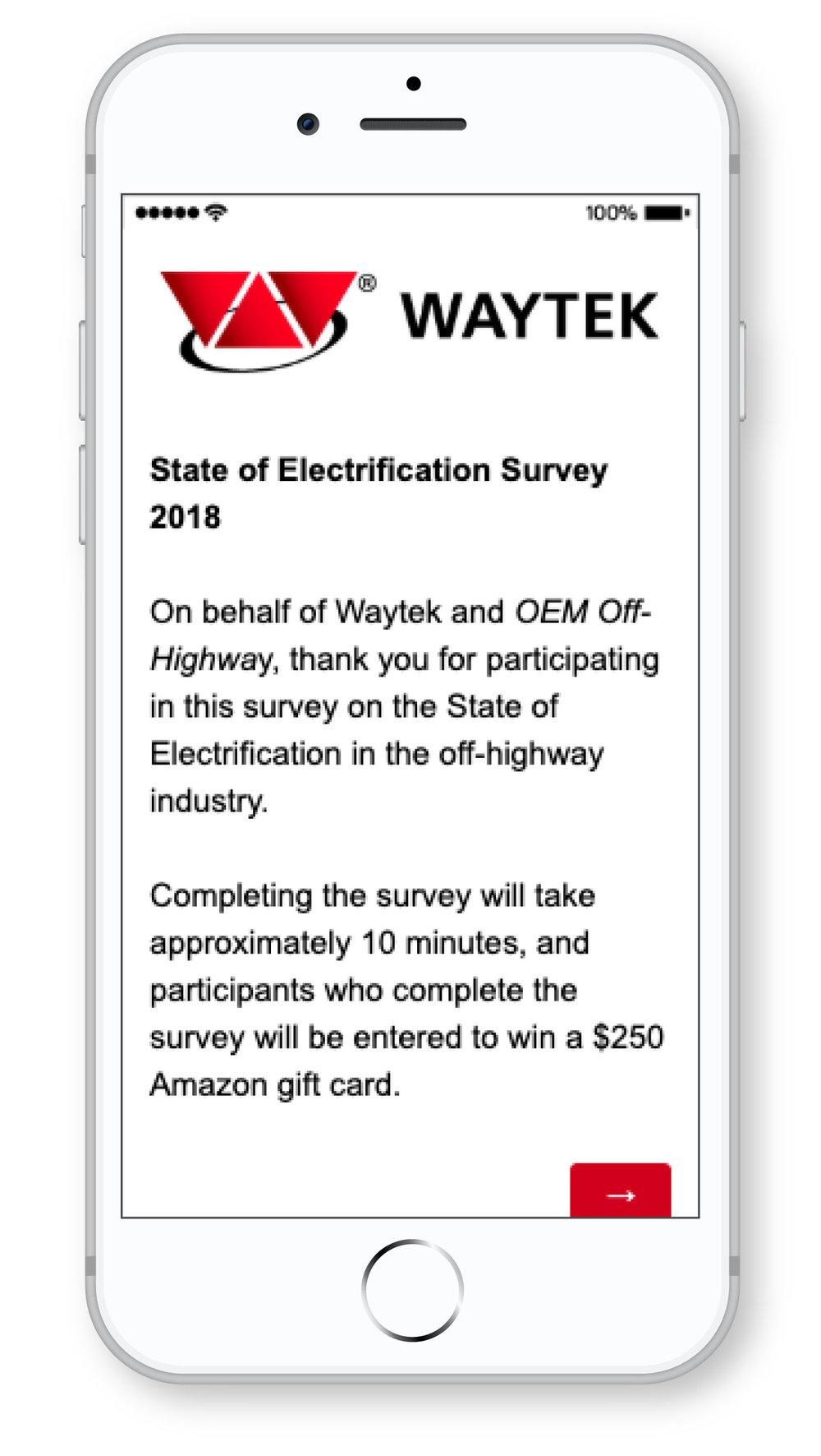 Waytek_Survey on Electrification_iPhone.jpg