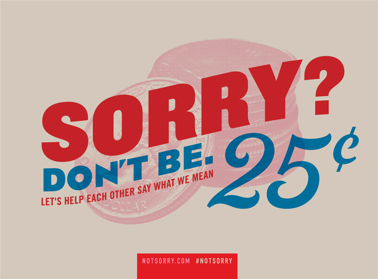 Women's Day Not Sorry Label 3