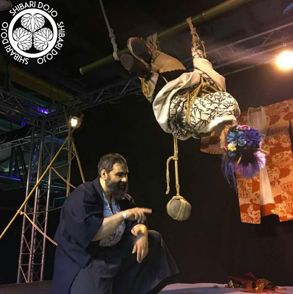 Davide La Greca - Pavia, ItalyWorkshops // TuitionPerformancewebsiteMBDStudio Shibari Dojoropework by Davide La Grecaphoto by Lucio Pat Fostermodelling by Iryna Tymchak