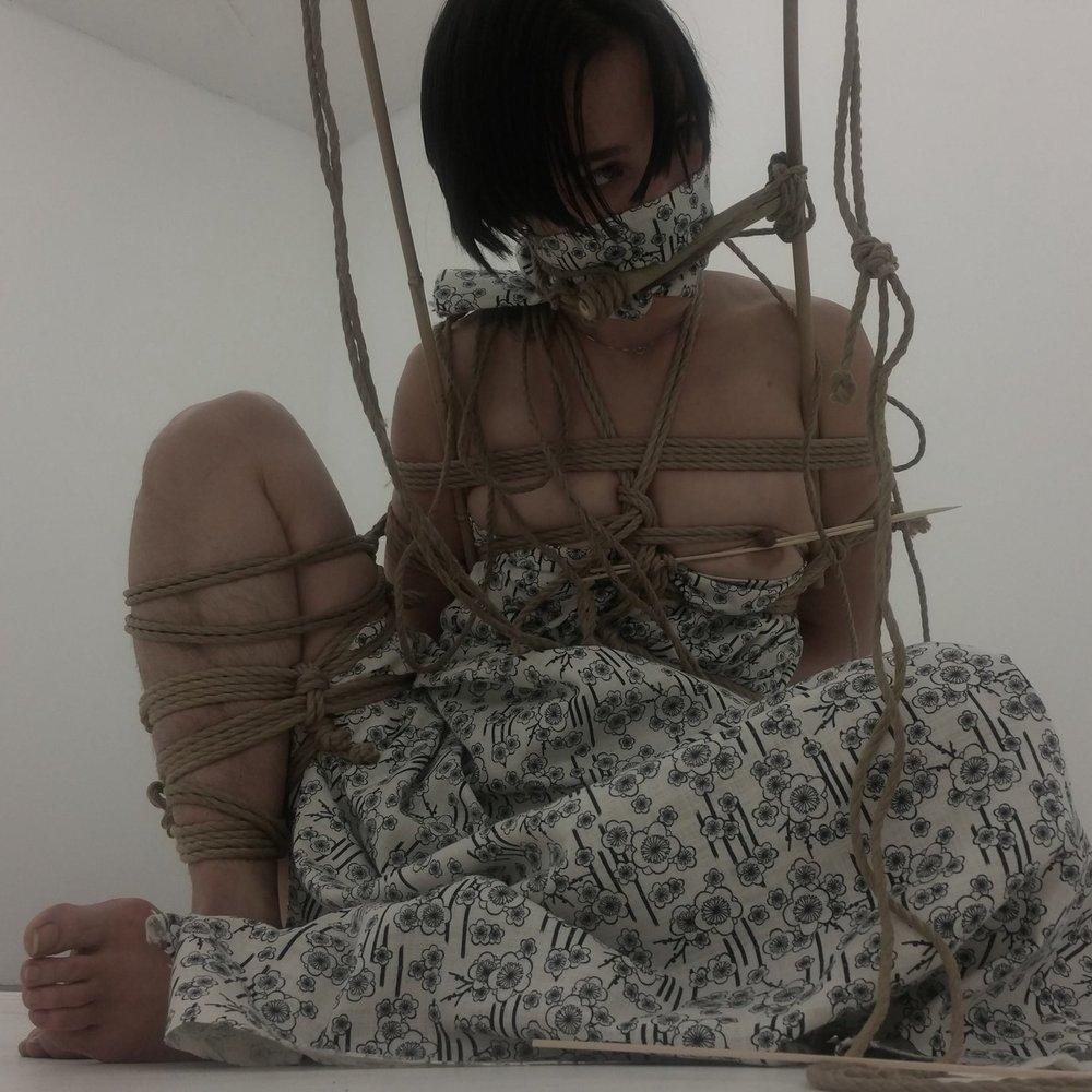 Dasniya Sommer - Berlin, GermanyWorkshops // TuitionModelling // Performance // Artistic WorkPhotographyemail // website // fetlife // instaropework and photo: Dasniya Sommermodelling: Lynn Suemi