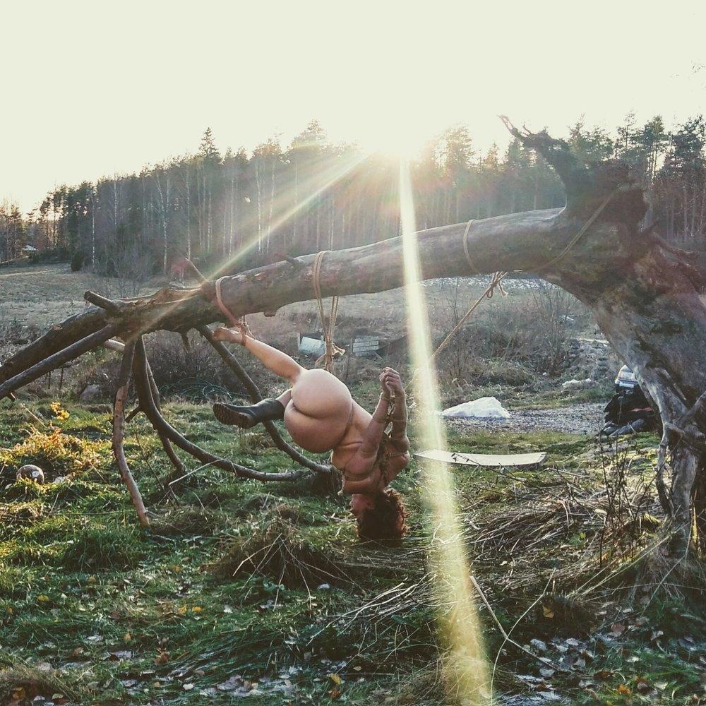 The Zen of Semenawa - A 3-day workshop by Andy Buru & Saara ReiPhoto by Andy Buru