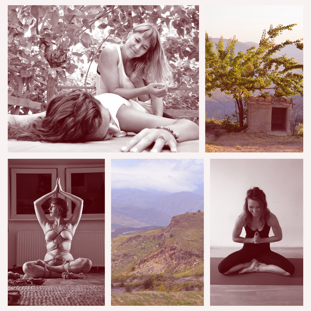 Body Play - A 5-day experience in the Sierra Nevada to retreat, to play, to be in your body.co-taught by Rebecca Jackson, Line Bangsbo Andersen, & Saara Rei