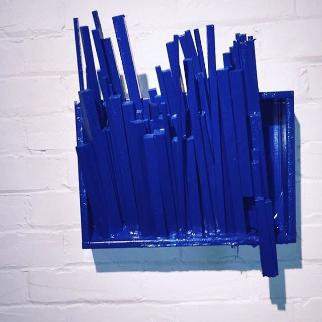 Untitled, wood and emulsion, Space 42