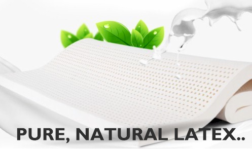 Pure Natural Latex avoids many issues related to the use of poor synthetic substitutes