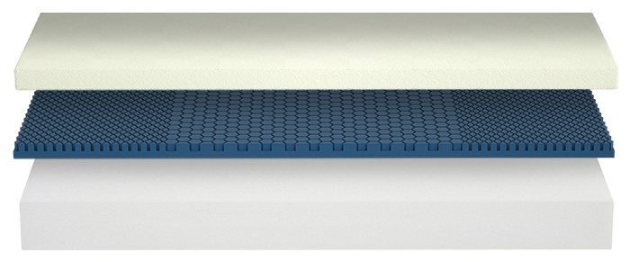 The extraordinary simplistic design of the Molecule Mattress. Designed with just three layers of unique hybrid foam ingredients, the incredible sleep induction and restorative sleep qualities make it our #1 choice for a foam mattress in today's vast selection of mattress choices.