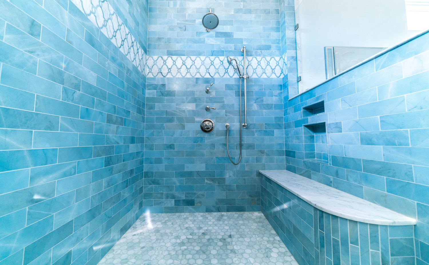 Showers — O.TILE KITCHEN AND BATH