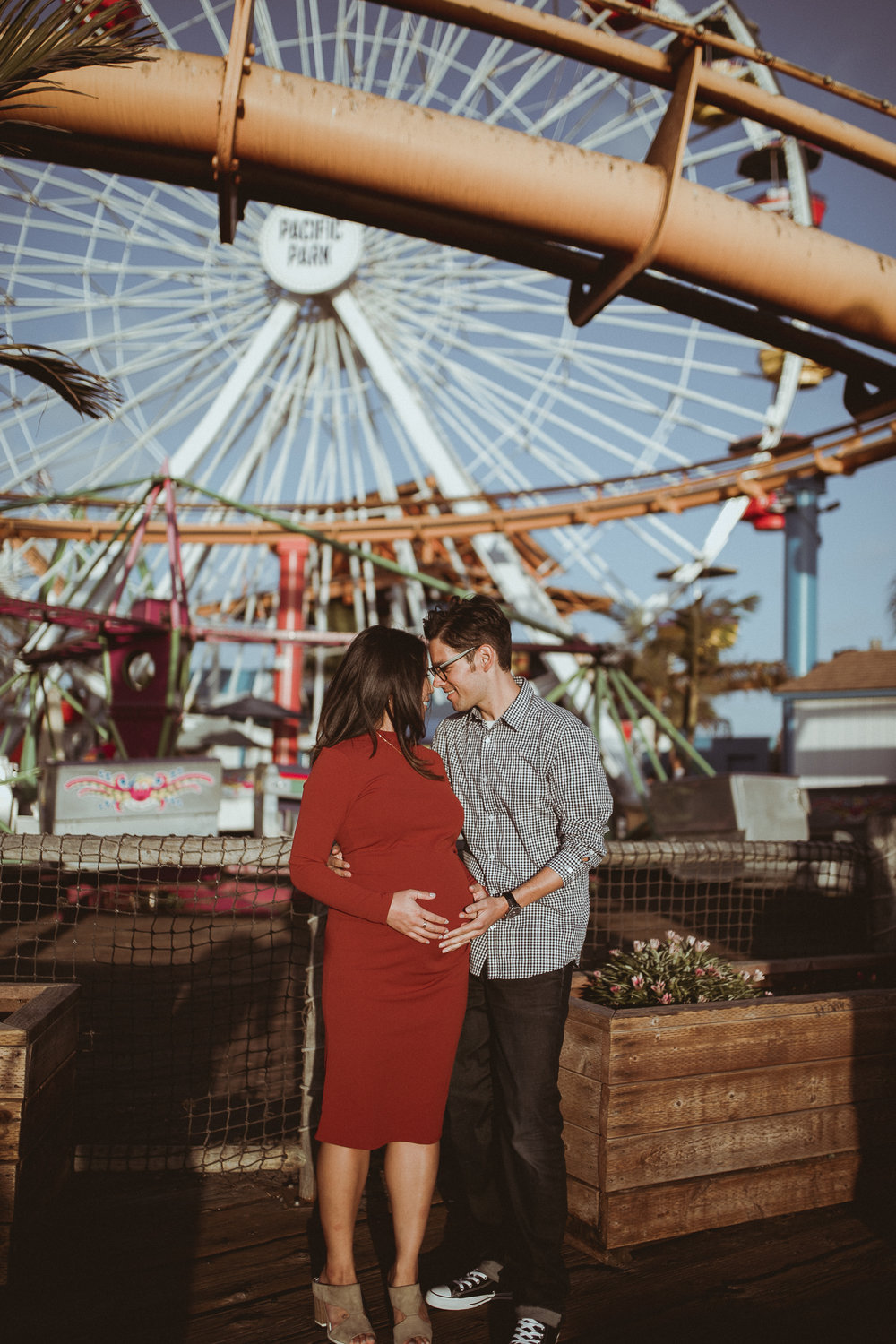 Carnival Themed Maternity Session -