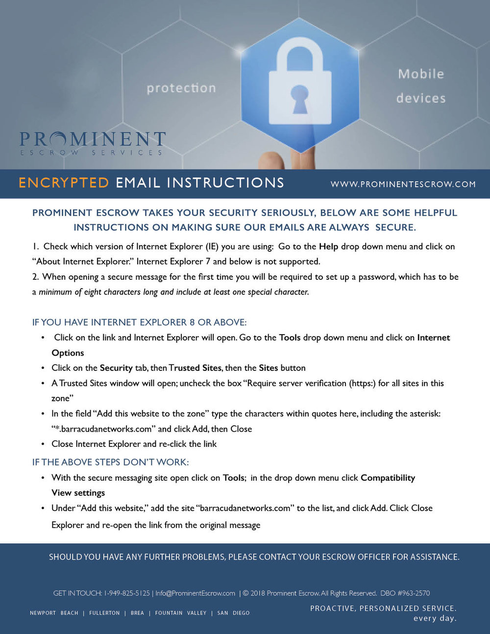 Encrypted Emails_Prominent Escrow