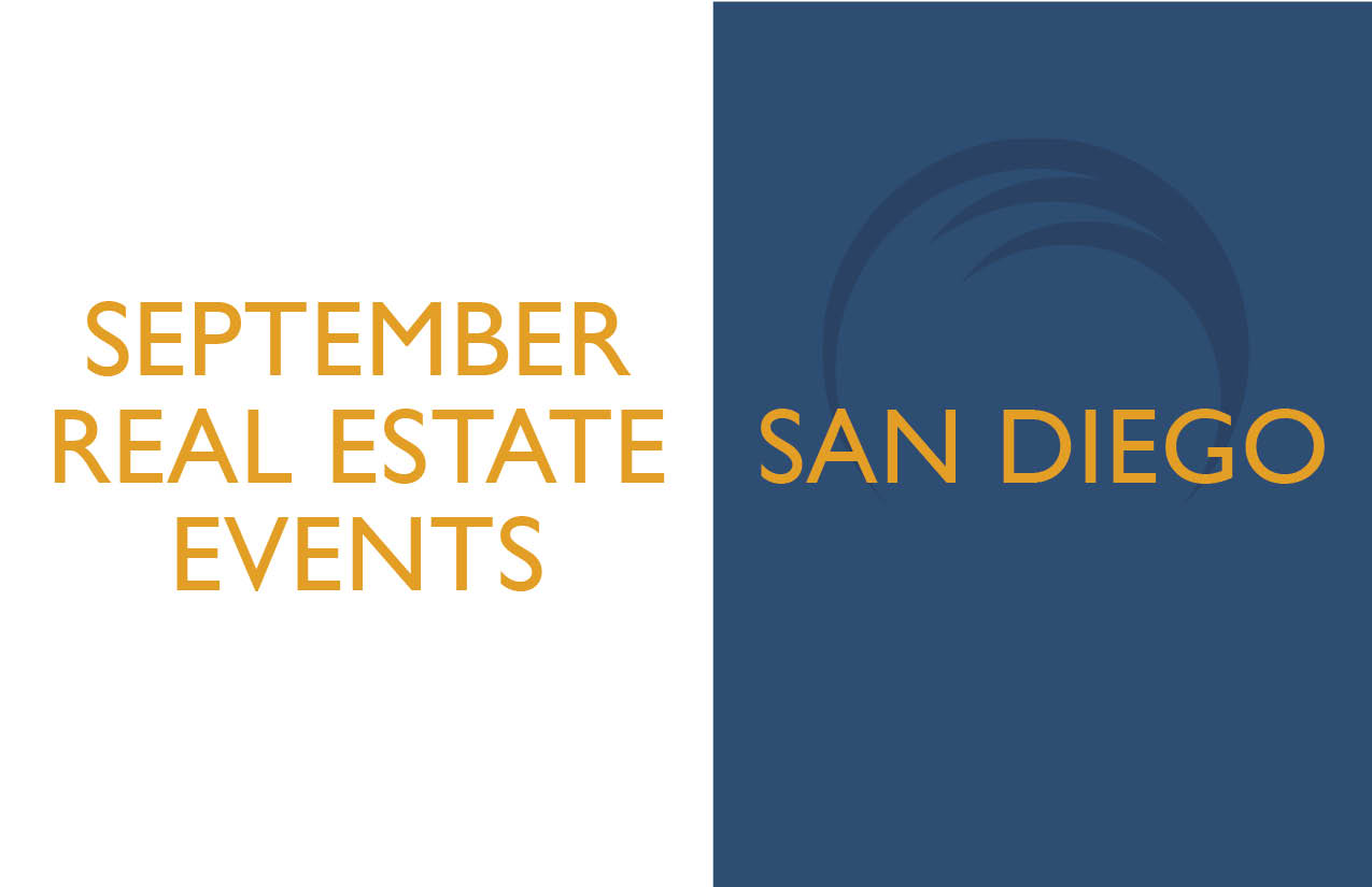 San Diego Real Estate Events September 2018 Prominent Escrow